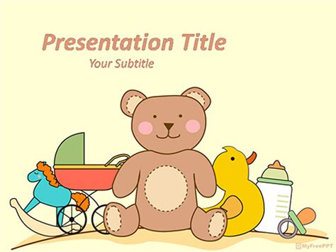 Free Toys PowerPoint Template   Download Free PowerPoint PPT