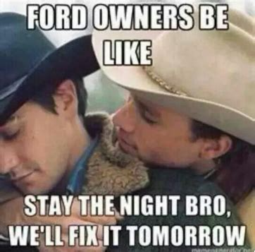 Ford Owner Memes - ford memes 19 hilarious ford truck jokes you can t help