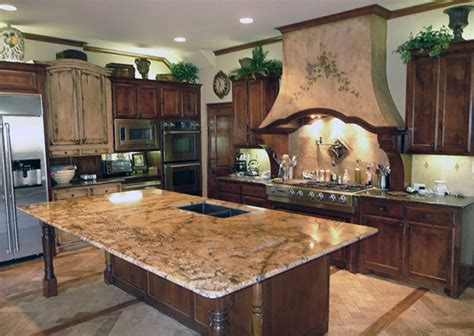 medium brown cabinets with granite countertops granite countertops for medium brown cabinets savae org