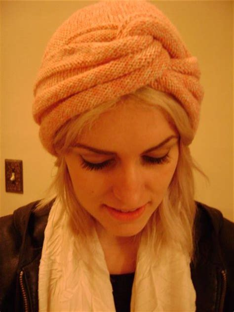 knit turban knit turban pattern a knitting