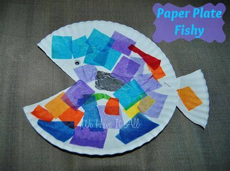 Paper Plate Fish Craft - discover and save creative ideas