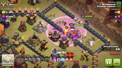 golaloon attack strategy clash of clans land 3 star th 10 round bases w golaloon clash of clans th