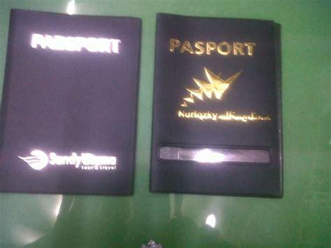 membuat cover paspor sampul rapot