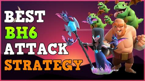 coc funniest attacks builder base 6 attack strategy coc builder hall 6 bh6