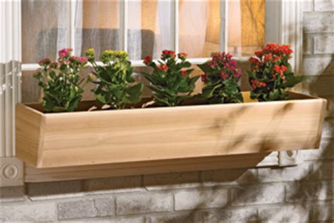 cedar window box cedar window flower box plans woodplans