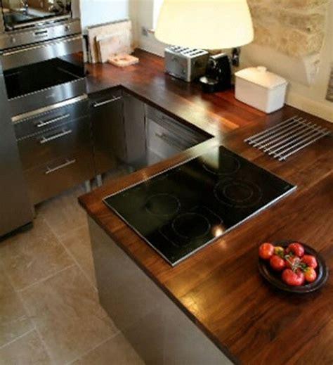 plan de travail cuisine bois massif davaus cuisine moderne plan travail bois avec des