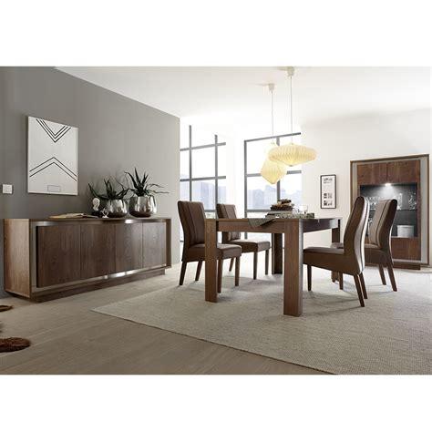 but salle a manger salle a manger couleur bois et chrome sofamobili