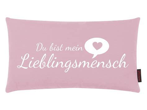 zierkissen altrosa zierkissen lieblingsmensch altrosa stoff rosa b 50cm