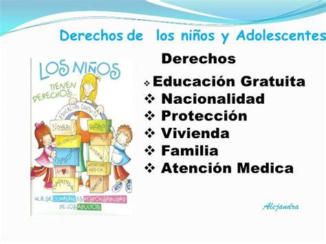 imagenes derechos de los niños y adolescentes los deberes y derechos del ni 241 o y adolescente