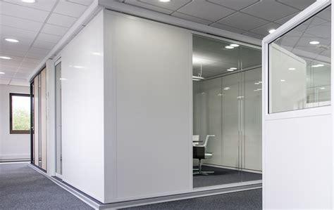 am駭agement chambre en longueur les cloisons pleines toute hauteur aluminium espace