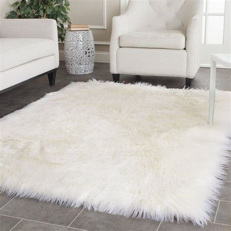 white rug 25 best ideas about sheepskin rug on white