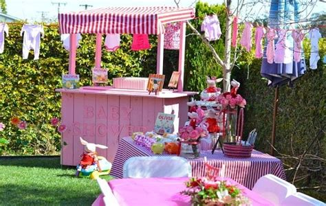 Outdoor Baby Shower Decorating Ideas by Baby Shower Ideas Theme And Decoration Tips