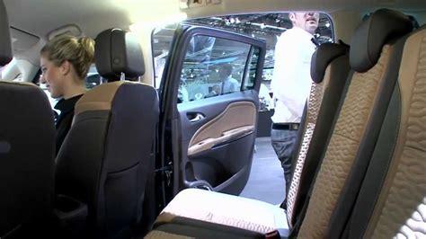 Vauxhall Practice Opel Zafira Tourer Mpv Lounge Seats In Practice Hd