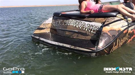 glastron boat wraps ink monstr pirate boat wrap time lapse youtube