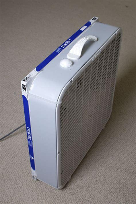 air purifier  boxwindow fan  furnace filter    put