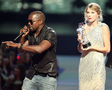 taylor swift video awards kanye west kanye west storms stage protests taylor swift s victory