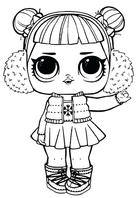 Coloring Page Lol Dolls by Lol Doll Coloring Pages Terest Home Improvement