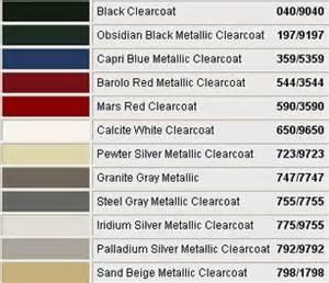 Mercedes Color Code Mercedes Paint Code 494