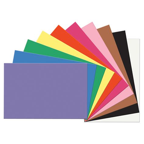 How To Make A Construction Paper - construction paper assorted 12x18 construction paper