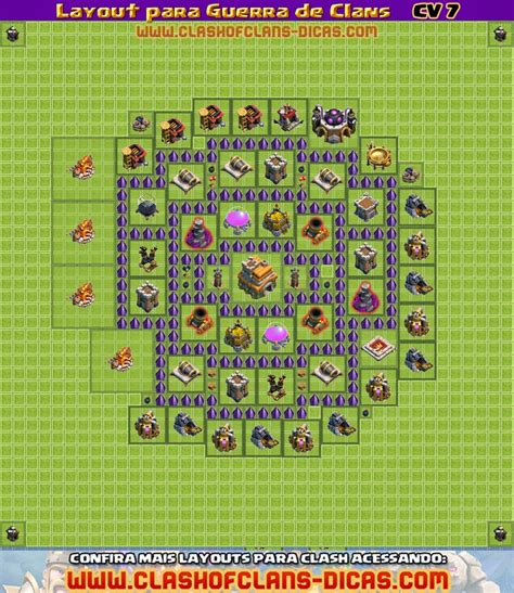 layout vila nivel 7 vila nivel 7 layout para guerra de clans ganhar clash of