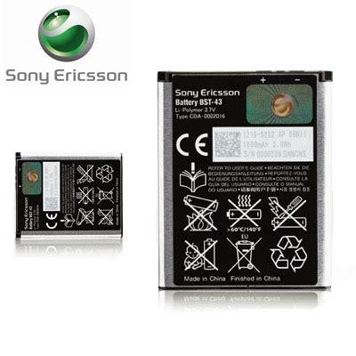 Batre Battery Baterai Sony Ericsson Bst 43 Original 100 sony ericsson bst 43 battery mobilefun
