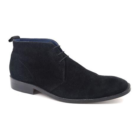 buy mens black suede chukka boots gucinari