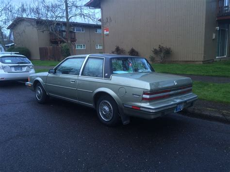 1986 buick century limited curbside classic 1986 buick century limited two door