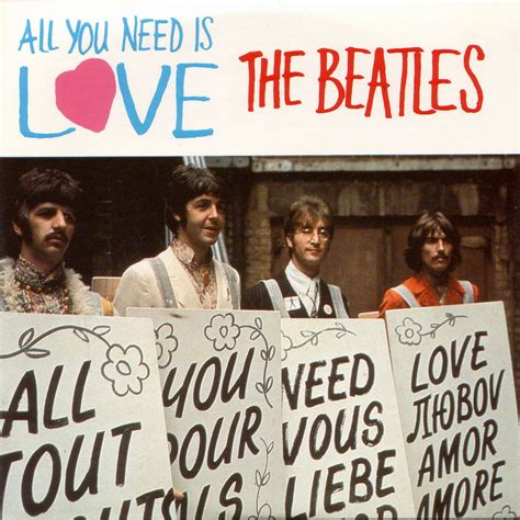 Kaos The Beatles All You Need Is all we need is emerging