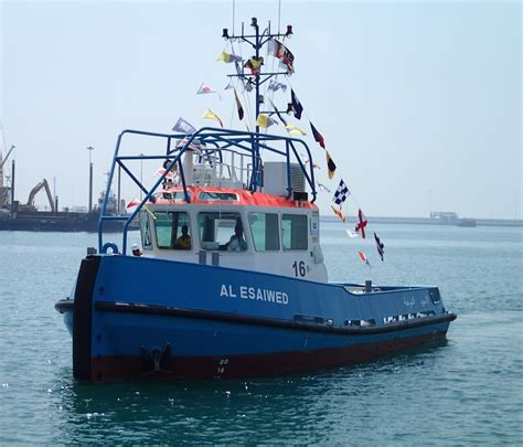 boat mooring terms nakilat damen launches first two mooring boats for the