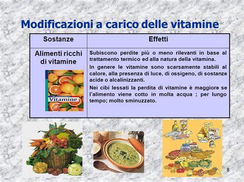 alimenti ricchi di vitamine 3 cottura degli alimenti ppt scaricare