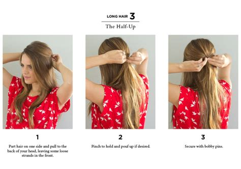 10 easy hairstyles for straight hair youtube 10 easy ways to style hair the everygirl