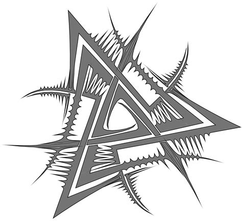 valknut tattoo designs pin valknut designs pictures on