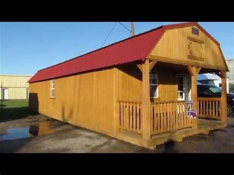 derksen treated lofted barn cabin  big ws portable