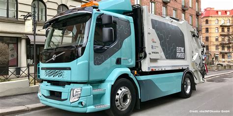 Volvo Electric Truck 2019 by Volvo Shows Fl Garbage Truck Plans 26 Ton Version