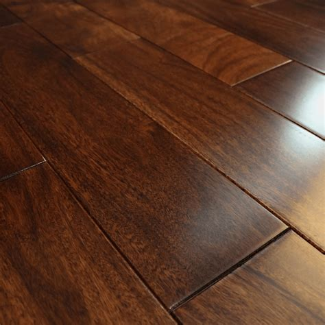 Solid Walnut Flooring by Wood Plus Stained Lacquered 18x123mm Solid Walnut