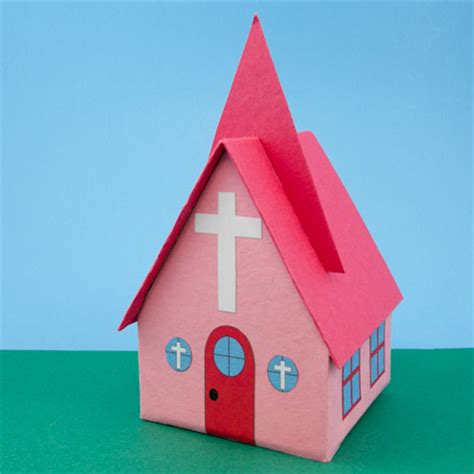 How To Make A Paper Church - how to make recycled milk gift boxes boxes and