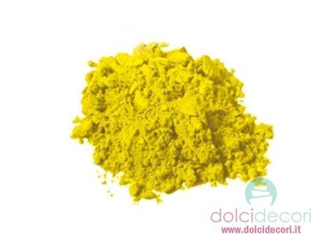 colorante alimentare giallo colorante alimentare in polvere giallo per dolci torte e