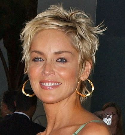 sharon stone most recent hairstyle sharon stone short pixie haircut flickr photo sharing