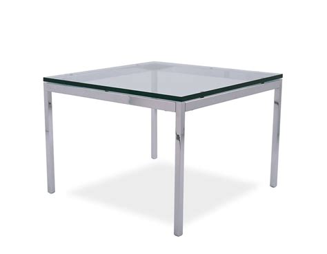 florence knoll square coffee table hivemodern com