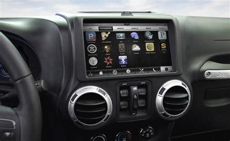 infotainment car next infotainment system previewed by qnx 187 autoguide
