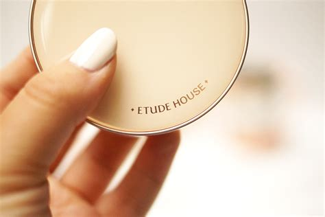 Etude Powder etude house real powder cushion review swatches