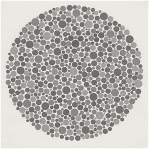 pattern eye test red green color blind test ishihara