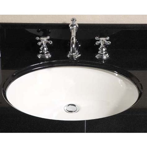 Oval Kitchen Sinks Kitchen Sinks Small Oval Undermount Sink Biscuit By Empire Kitchensource