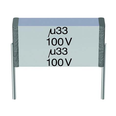 capacitor 400 mkt mkt thin capacitor radial lead 0 68 181 f 400 vac from conrad