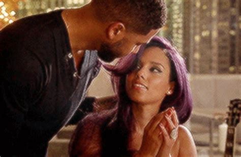 alicia keys tongue jussie smollett s wife on empire