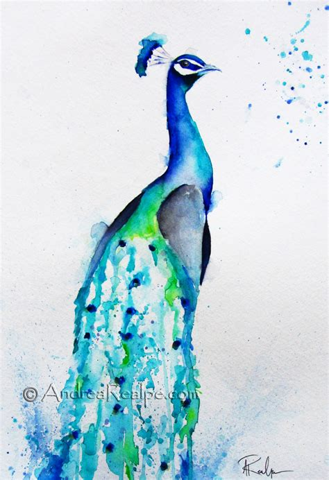 watercolor tattoo peacock abstract watercolor peacock search watercolors