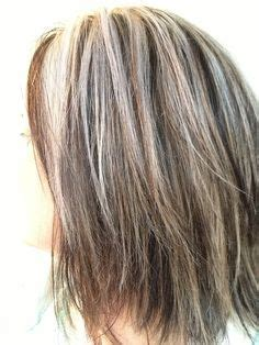 blending gray roots with highlights lowlights for gray hair betsy hyman added highlights and