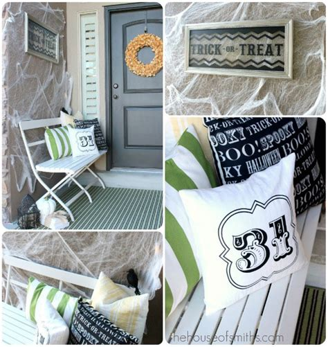 christmas decorating blogs the house of smiths home diy scary and creepy halloween front porch ideas homes com