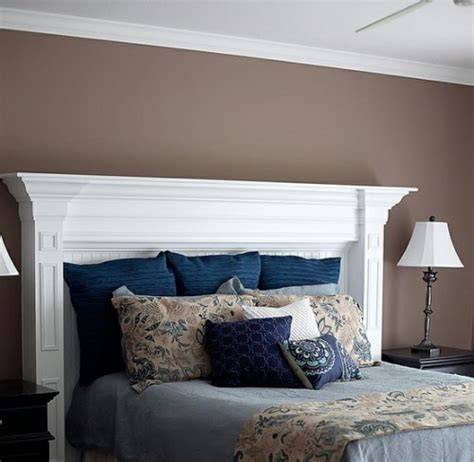 creative headboards 20 creative headboard ideas to imitate a fireplace