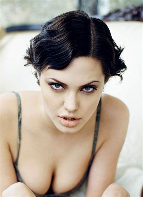 short sexy hairstyles africanseer com angelina jolie sexy short wavy bob hairstyle capellistyle it